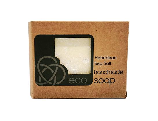 Hebridean Sea Salt Soap Bar Handmade in the Scottish Highlands by eco soaps