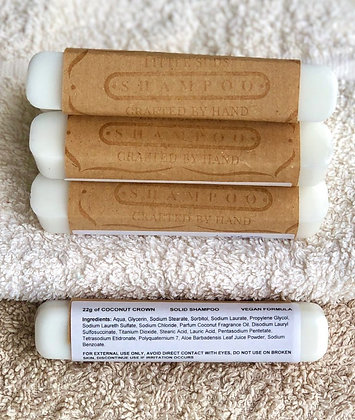 Coconut Shampoo Stick Gift Set by Little Suds