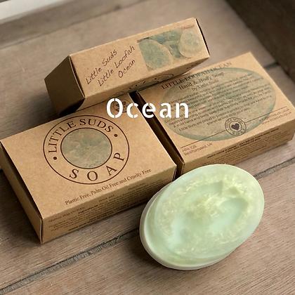 Little Loofah Ocean Soap Bar by Little Suds