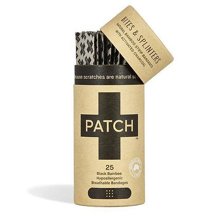 Patch Biodegradable Plasters Activated Charcoal for Bites and Splinters