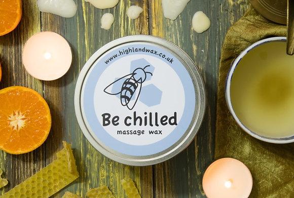 Be Chilled Massage Wax