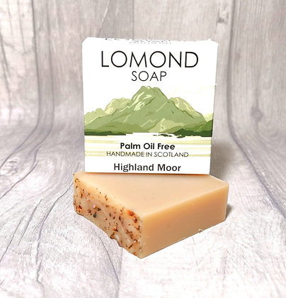 Handmade & Palm Oil Free Highland Moor Soap