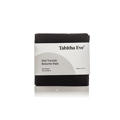 Biodegradable Re-Usable Bamboo Nail Varnish Wipes by Tabitha Eve