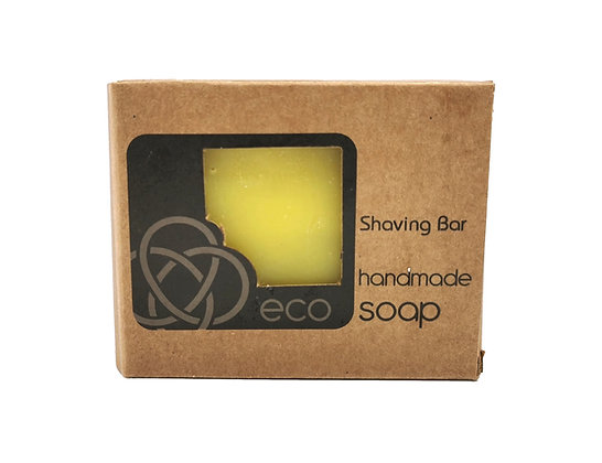 Solid Shaving Soap Bar Handmade in the Scottish Highlands by eco soaps