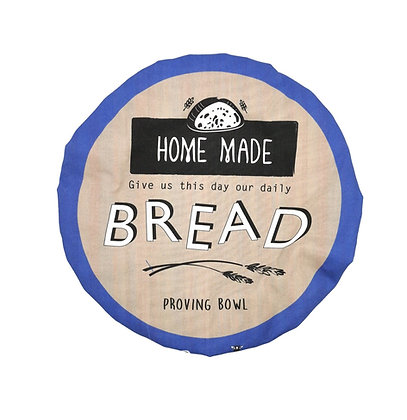 Handmade in Scotland, 100% Cotton Bowl Cover in Large Bread Deisgn