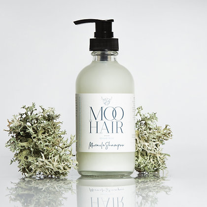 Miracle Hair Shampoo by Moo Hair in a bottle