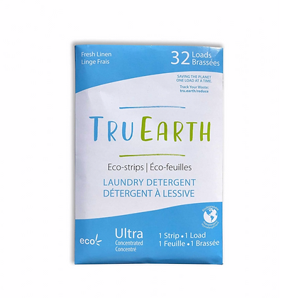 Tru Earth Laundry strips front view