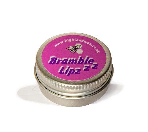 Bramble lip balm in aluminium tin