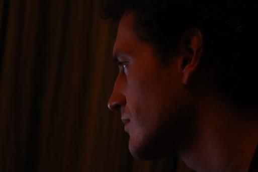Daniel in profile