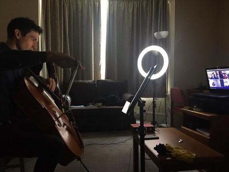 Lighting in a dark room