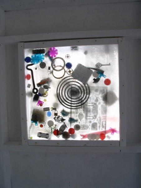 Rewind in Fast Forward -Window Detail, Ice Follies 2008