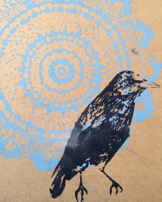 Blackbird in my Dreamweaving