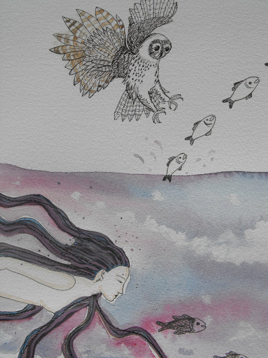 Detail from Creation Story Part 1