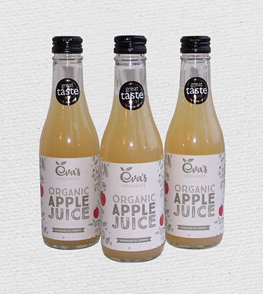 3 x Organic Apple Juice