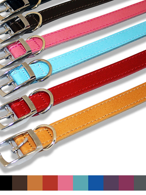Plain Leather Collar 05