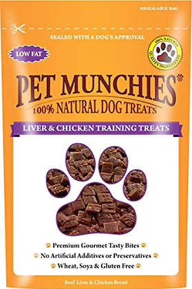 PET MUNCHIES LIVER & CHICKEN 150g