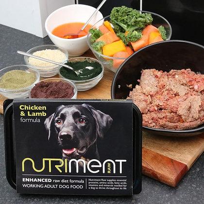 Nutriment Chicken & Lamb Tray 500g