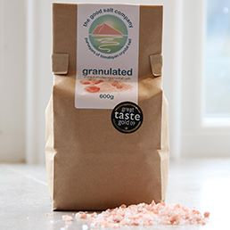 Himalayan Salt (Granulated) Bag 600g