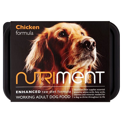 Nutriment Chicken Formula Tray 500g