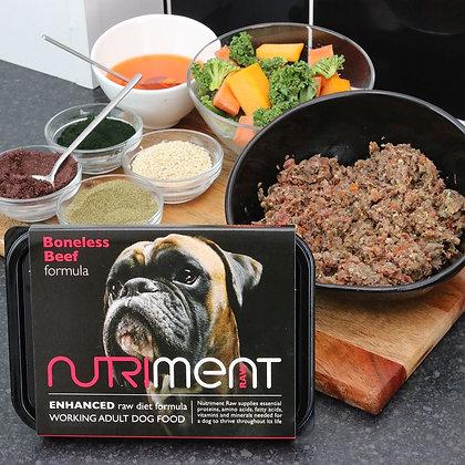 Nutriment Boneless Beef Tray 500g
