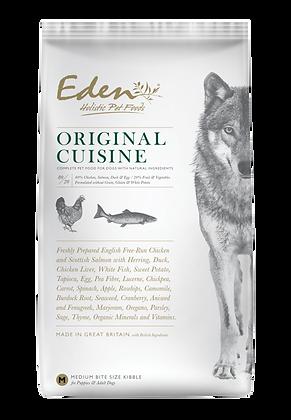 EDEN 80/20 ORIGINAL CUISINE DOG FOOD MEDIUM KIBBLE 2kg