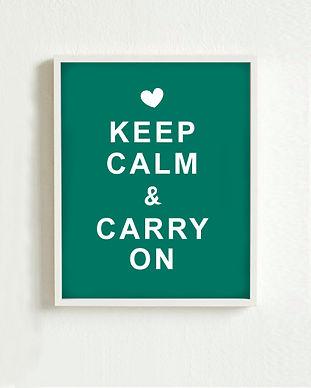 Halten Sie Ruhe-Plakat