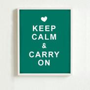 Gardez le calme Poster