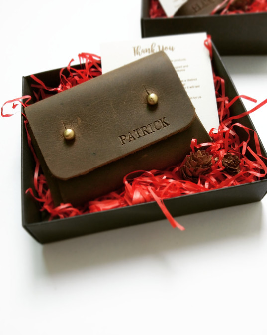 Stevee Card Holder_Personalized Leather