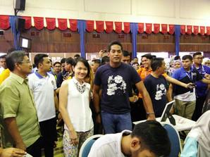 Photo op with YB Haji Khairy bin Jamaluddin