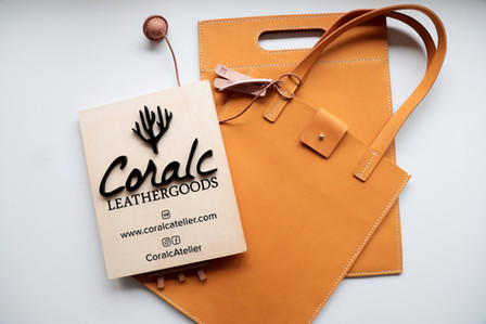 coralc atelier handmade leather gifts be