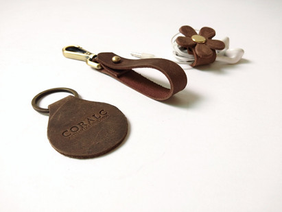 Assorted Key Chains_Coralc Leathergoods.