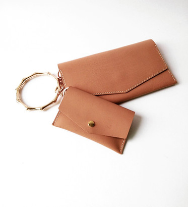 clutch duo leather bag making workshop e