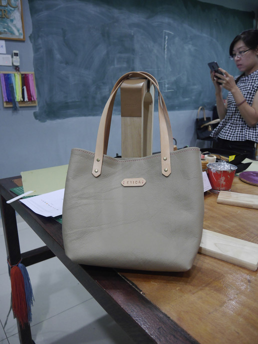 Coralc Atelier Leather Crafting Workshop Malaysia Beginner Class