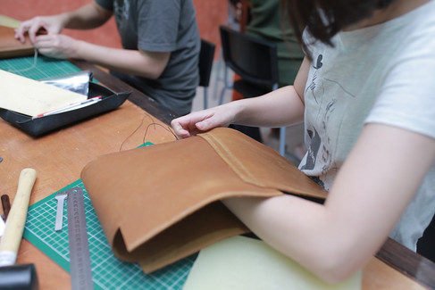 Coralc Atelier Leather Crafting Workshop Malaysia Top Art & Craft Workshop Malaysia