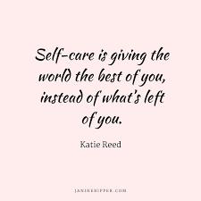 Selfish or Self Caring ?