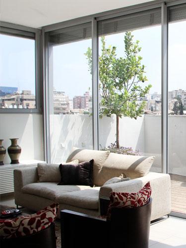 דק בדירת גג