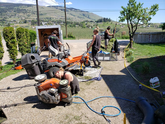 Weekly maintenance and cleaning of equipment