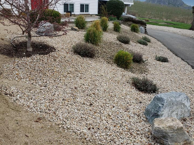 Rockwork and Landscape design.