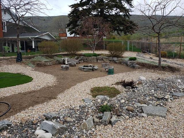 Landscape renovation and design.