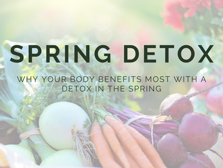 Make the Most of your Detox in The Spring