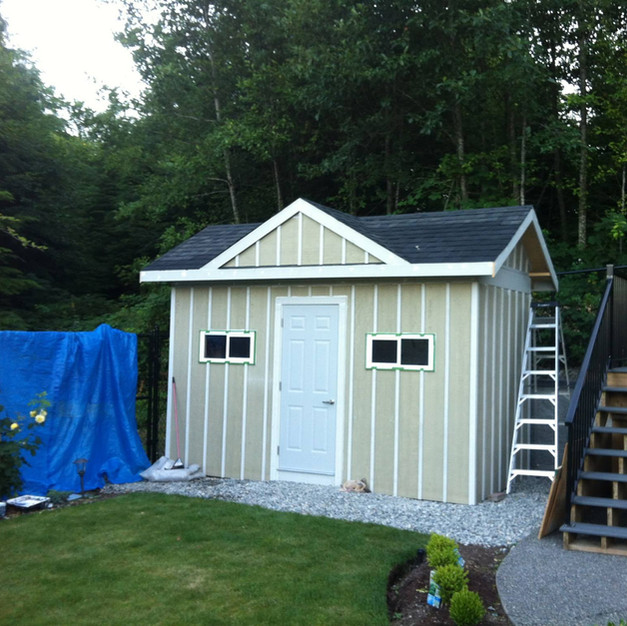 Large Shed (pre-paint)
