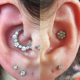 daith piercing vs conch piercing