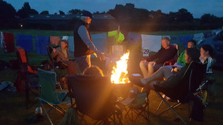 Enjoy a fire pit with your family