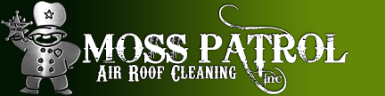 Moss Patrol Air Roof Cleaning Logo