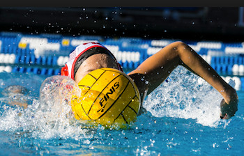 Girls water polo - Millfield training
