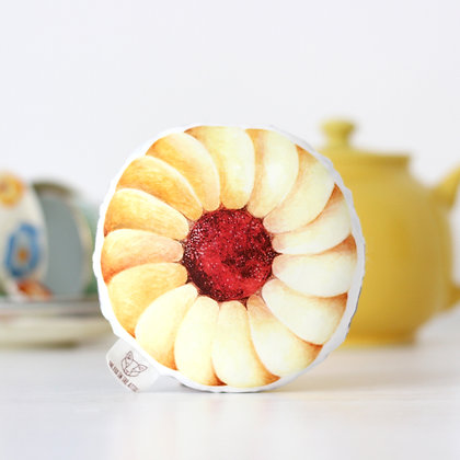 Strawberry Whirl Baby Rattle