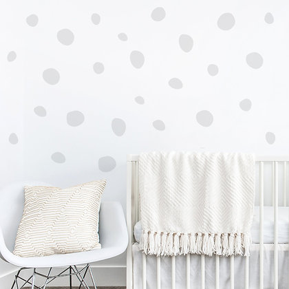 Doodle Dot Wall Stickers - Various colours