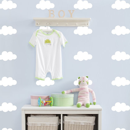 Cloud Wall Stickers - Various colours