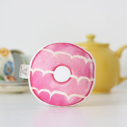 Party Ring Baby Rattle - Pink