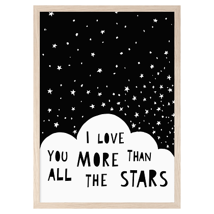 All The Stars A3 Print